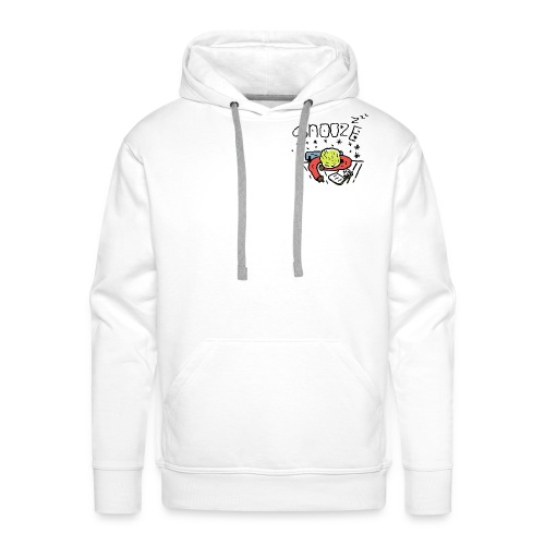snooze - Sweat-shirt à capuche Premium pour hommes
