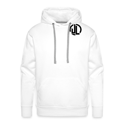 The Black JL Logo - Men's Premium Hoodie