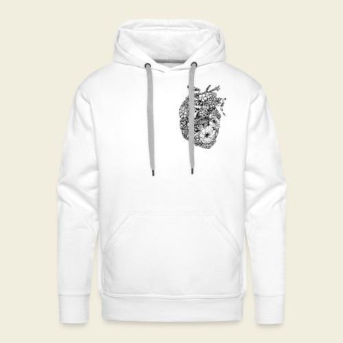 Kolibri Herz - Männer Premium Hoodie