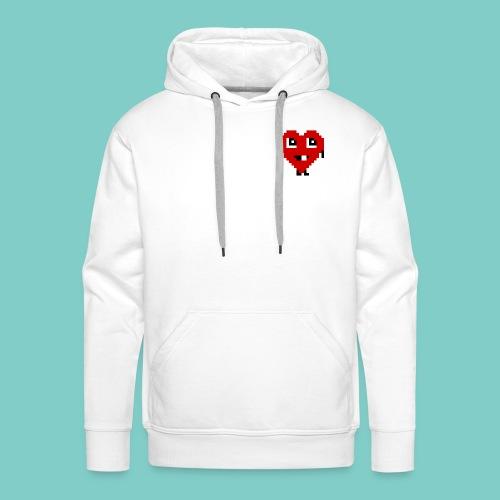 Coeur mignon - Sweat-shirt à capuche Premium pour hommes