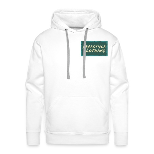 LIMITED EDITION 'Freestyle Clothing' Camo Logo - Men's Premium Hoodie