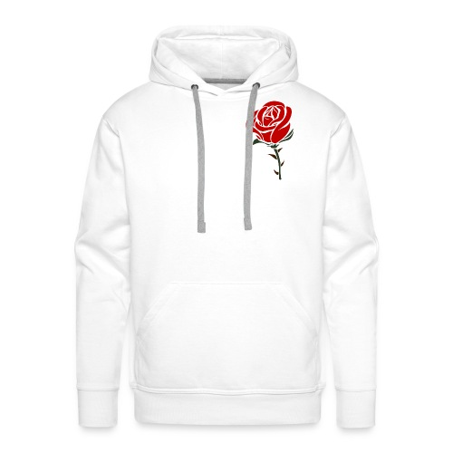 Rose design - Men's Premium Hoodie