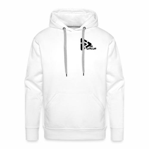 Der Unbekante schwarzes Logo - Männer Premium Hoodie