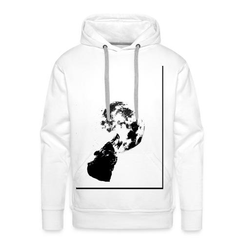 lobo1 - Sudadera con capucha premium para hombre