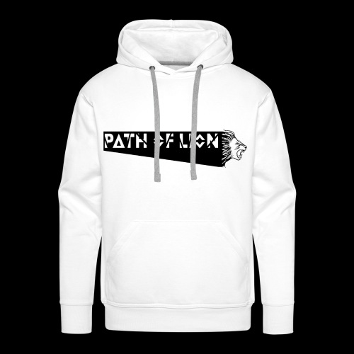 Path_of_Lion - Männer Premium Hoodie