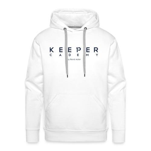 KeeperCademy Schriftzug by René Adler Schriftzug - Männer Premium Hoodie