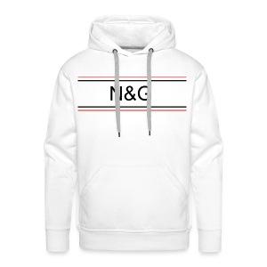 N&G BASIC - Sweat-shirt à capuche Premium pour hommes