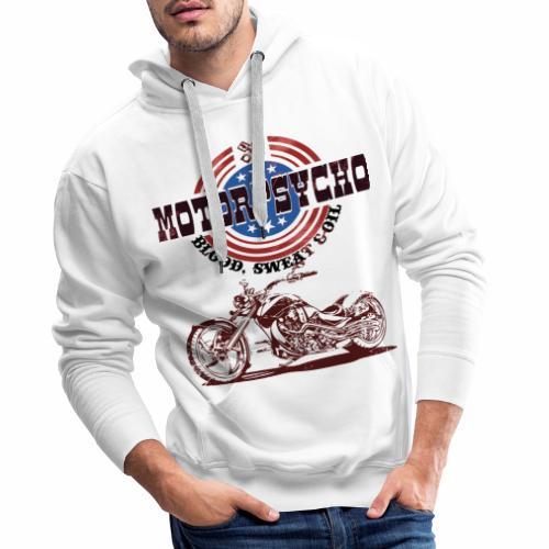 Motorpsycho Chopper Logo - Männer Premium Hoodie