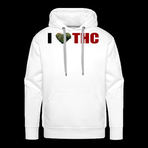 I love THC - Männer Premium Hoodie