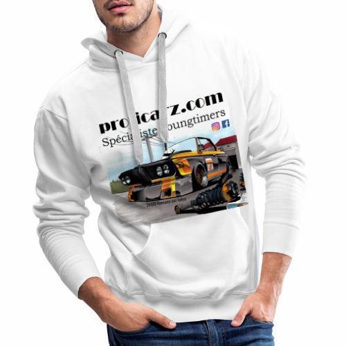 3.0 CSL motorsport - Sweat-shirt à capuche Premium pour hommes