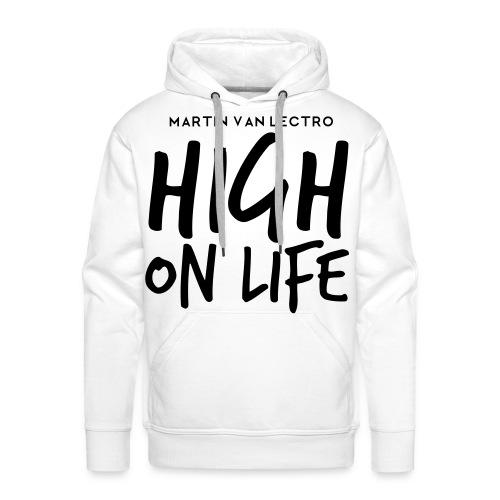Martin Van Lectro - High on Life - Merch. - Männer Premium Hoodie