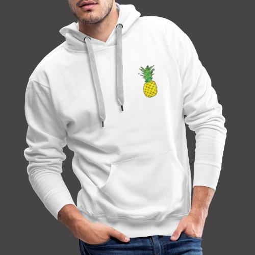 Pineapple small - Männer Premium Hoodie