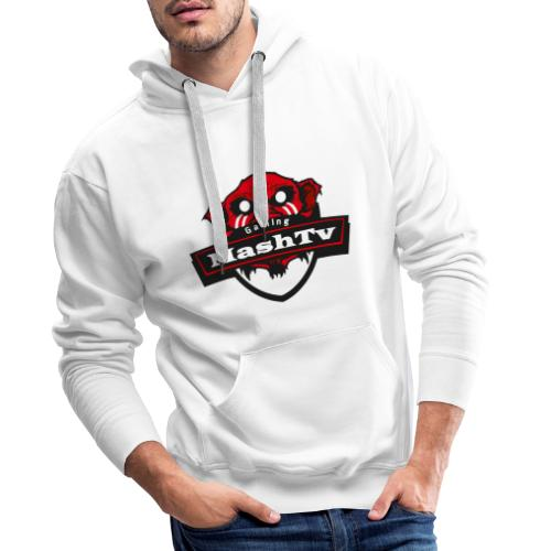 Transparentes Mash Merch Red/Black Logo - Männer Premium Hoodie