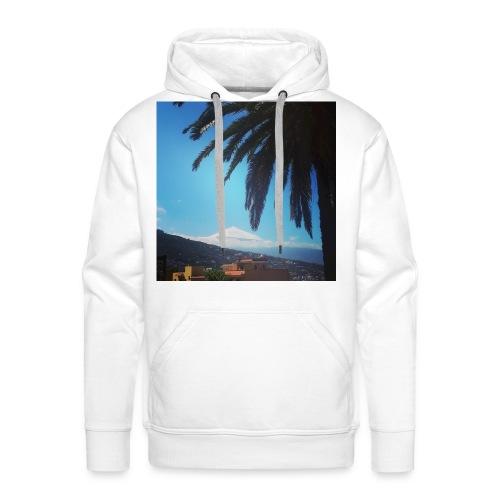 Islas Tenerife - Felpa con cappuccio premium da uomo