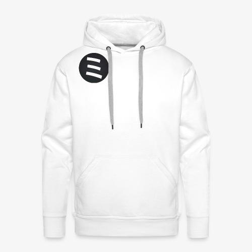 Alex Lander Branding Circle - Sweat-shirt à capuche Premium pour hommes