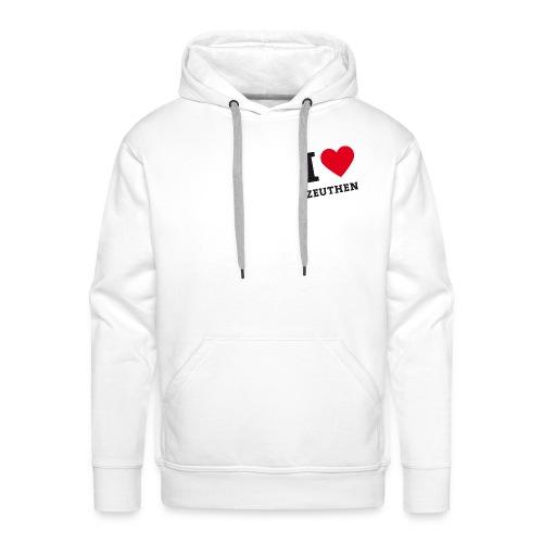 I Love Zeuthen - Männer Premium Hoodie