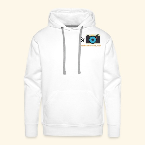 Brothers from the rock - Men's Premium Hoodie