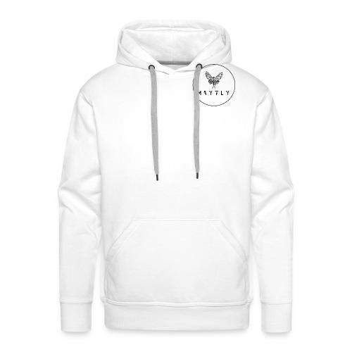 MAYFLY - CERCLE - Sweat-shirt à capuche Premium pour hommes