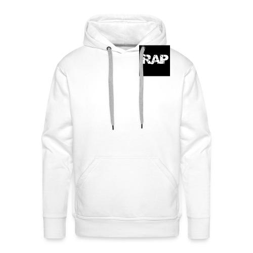 Rap - Logo - Men's Premium Hoodie