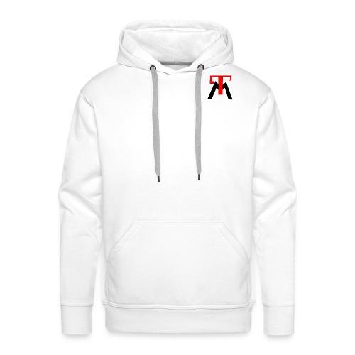 mon logo - Sweat-shirt à capuche Premium pour hommes