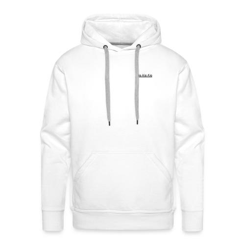 aïe aïe aïe - Sweat-shirt à capuche Premium pour hommes