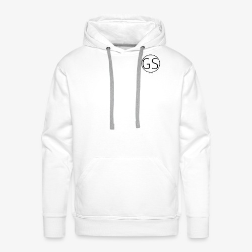 Official GS Circular Small Design - Men's Premium Hoodie