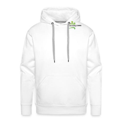 All-in Health Coaching logo - Mannen Premium hoodie