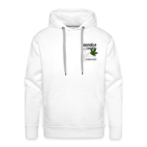 Cannalise Legabiz - it's all about cannabis - Mannen Premium hoodie