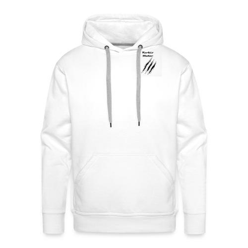 Kerbis motor - Sweat-shirt à capuche Premium pour hommes