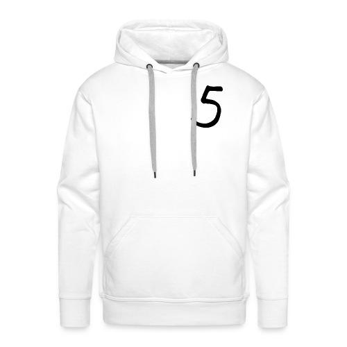 5 collection - Sweat-shirt à capuche Premium pour hommes