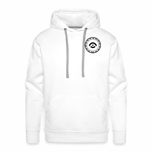 Circle Black - Men's Premium Hoodie