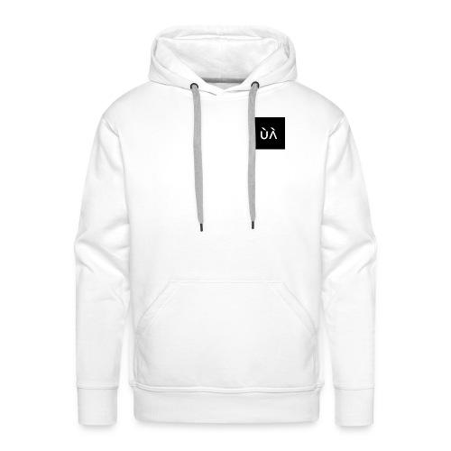 JL Symbol - Herre Premium hættetrøje
