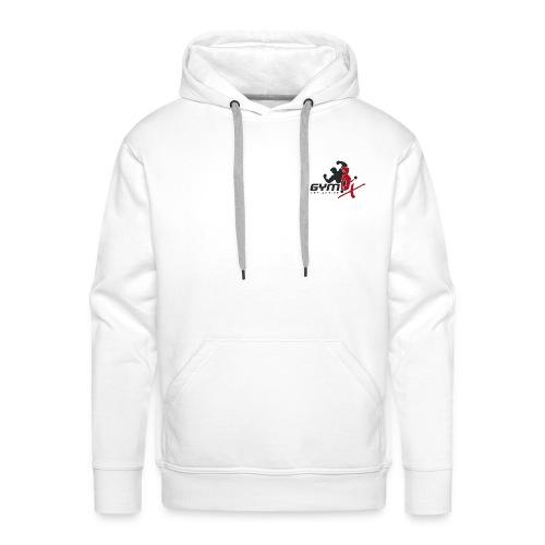 GYM-X.logo (für helle Kleidung) - Männer Premium Hoodie