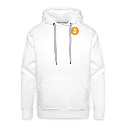 Bitcoin Logo - Men's Premium Hoodie