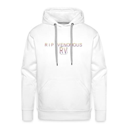 Rip Venomous White T-Shirt men - Mannen Premium hoodie