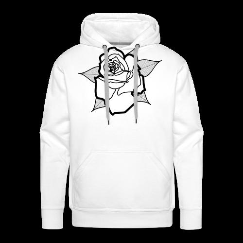 Big Rosa - Sweat-shirt à capuche Premium pour hommes