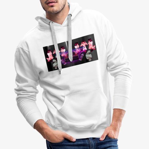 Vaporwave Tee - Sweat-shirt à capuche Premium pour hommes