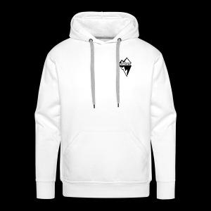 Eyesberg Tshirt - Sweat-shirt à capuche Premium pour hommes