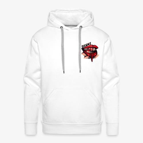 SILUNS 0111011 - Sweat-shirt à capuche Premium pour hommes