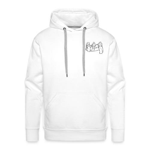 Dead Inside Reapers (WHITE) - Mannen Premium hoodie