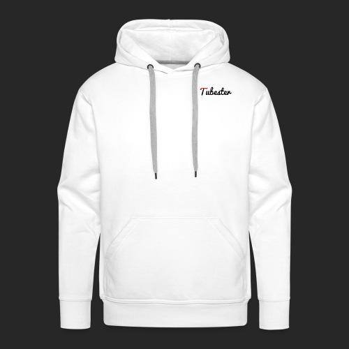 Tubester font - Men's Premium Hoodie
