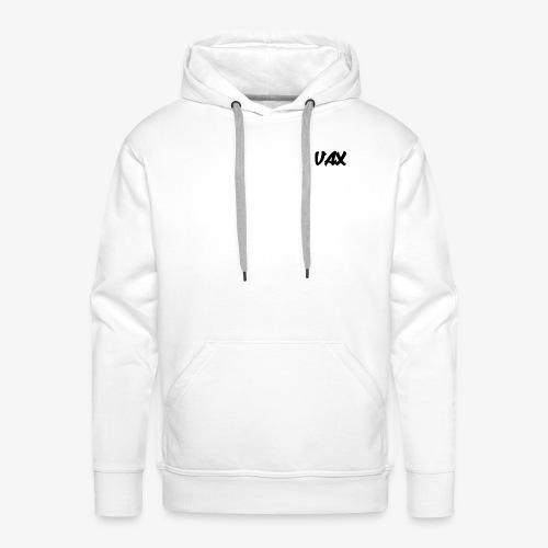 VAX LOGO - Sweat-shirt à capuche Premium pour hommes