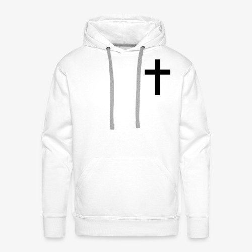 Christian cross - Men's Premium Hoodie