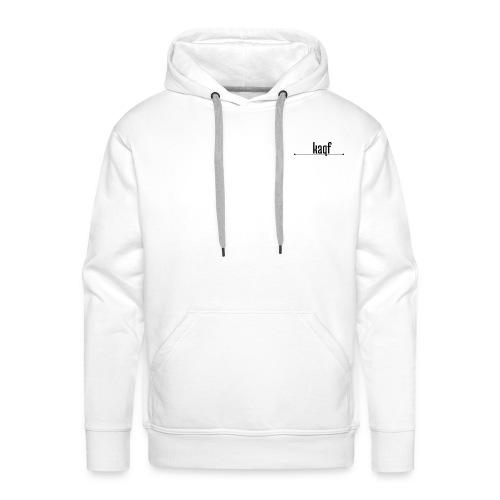 Weißer kaqf Mirch - Männer Premium Hoodie