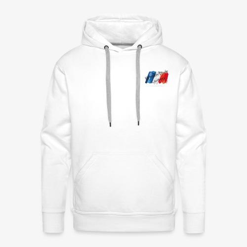 French Dude Clothing - Sweat-shirt à capuche Premium pour hommes