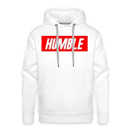 RED Humble Logo - Men's Premium Hoodie