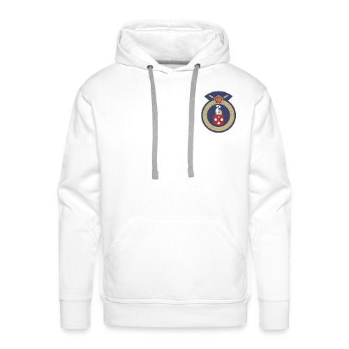 13 Eastleigh Badge White - Men's Premium Hoodie