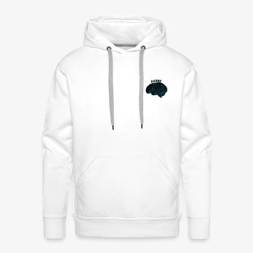SILUNS 0110110 - Sweat-shirt à capuche Premium pour hommes