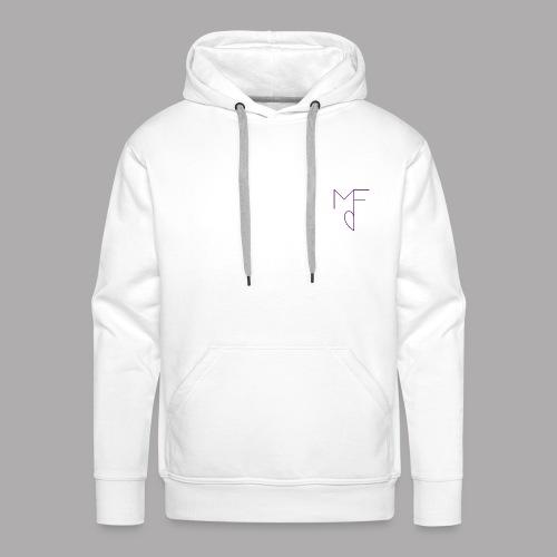 MF - Sweat-shirt à capuche Premium pour hommes