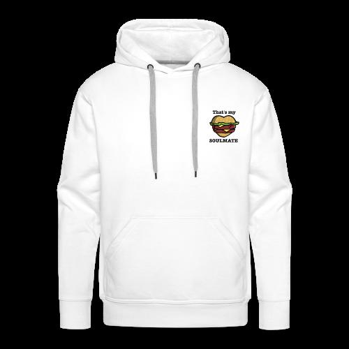Love Food - Sweat-shirt à capuche Premium pour hommes